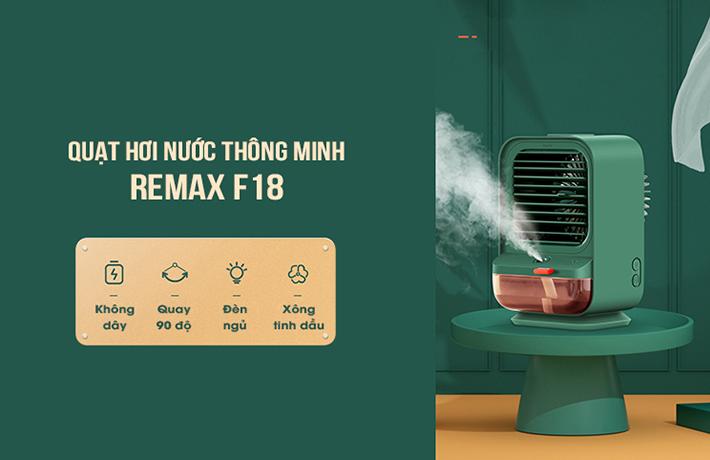Quạt điều hòa hơi nước mini thông minh Remax F18 1