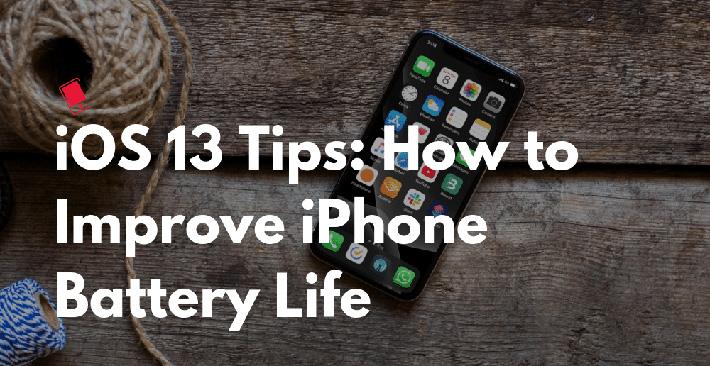 Cách cải thiện tuổi thọ pin iPhone trên iOS 13