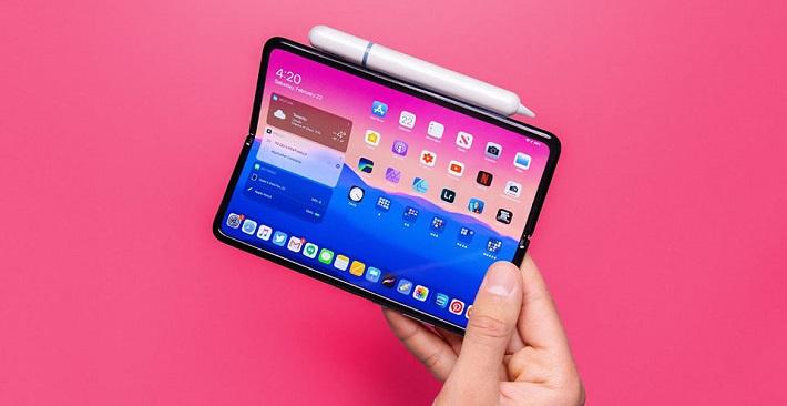Nếu Apple ra mắt một chiếc iPad Pro màn hình gập như thế này thì bạn nghĩ sao?
